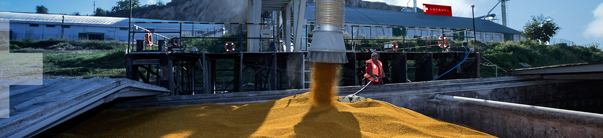 Ameropa Fertilizers Food Feed Danube Agriculture Business Grains Cereals Plant